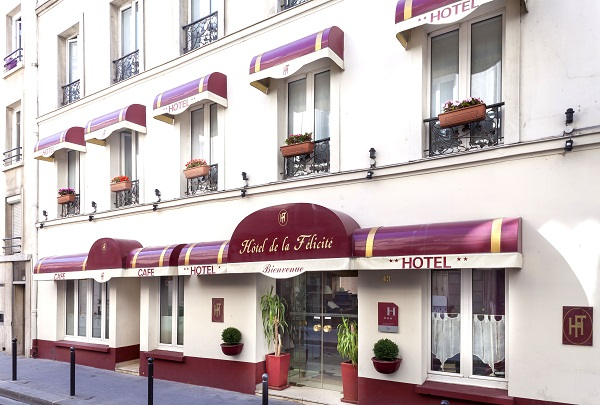 H tel de charme la f licit paris 17 site officiel for Hotel de charme paris